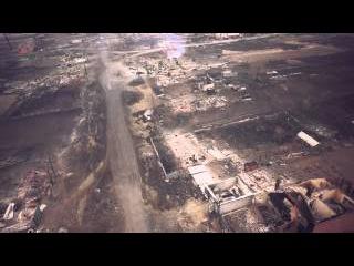 Страшные последствия пожаров в Хакасии 2015. Аэросъемка.