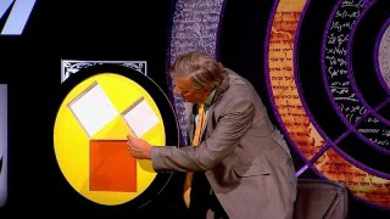 Demonstrating Pythagoras' theorem using a clever gadget - QI: Series M Episode 5 Preview - BBC Two