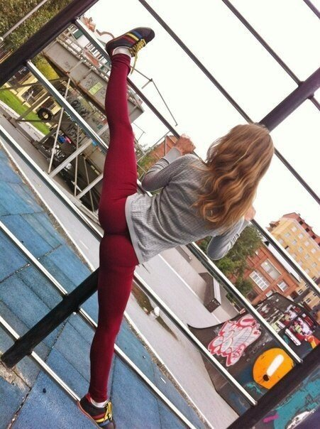 ножки улицы девушки