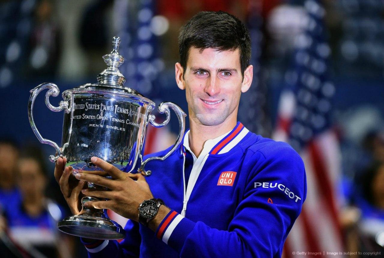 Новак Джокович - победитель US Open - 2015