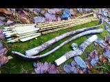 Камуфлированный лук из ПВХ трубы и его испытания на морозе