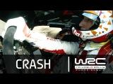 WRC - LOTOS 72nd Rally Poland 2015: CRASH Meeke