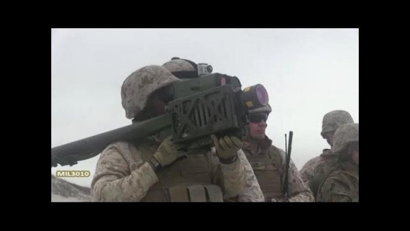 ПЗРК FIM-92 Stinger Стрельба по мишеням днём и ночью