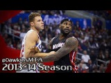 LeBron James vs Blake Griffin NASTY Duel 2014.02.05 - 74 Pts, 18 Dimes Combined!