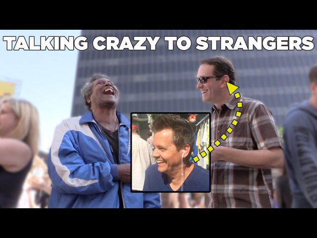 MediocreFilms - Talking Crazy to Strangers! (Greg Benson Jack Vale)