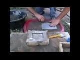 литье алюминия в цемент