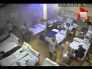 Видео обрушения омской казармы ВДВ в Светлом с камеры наблюдения