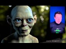 CGI Facial Mocap Re-Targeting Demo HD: Gollum Project by Fabrice Visserot
