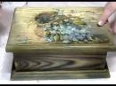 Татьяна Блохнина Вживление распечатки в брашированную поверхность