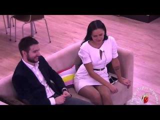 Влад Скульский  и Вика Романец  на ТЕТе с Бузовой