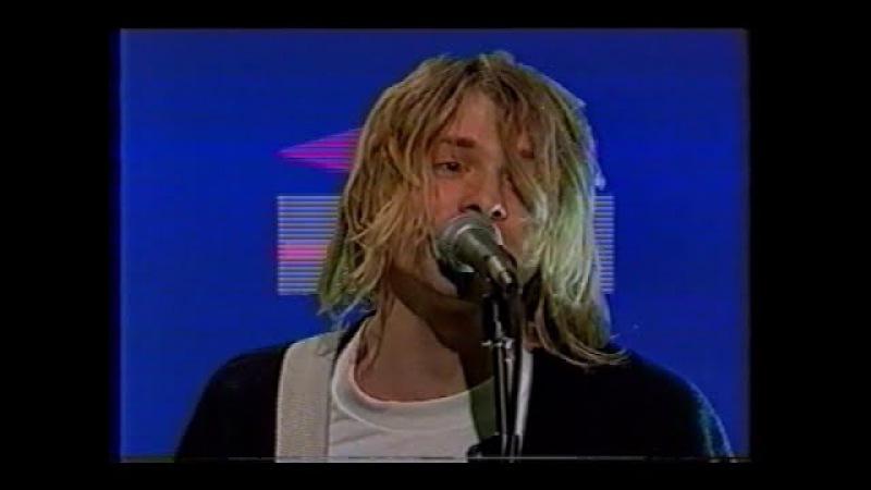 Nirvana - Smells Like Teen Spirit (First TV Performance)