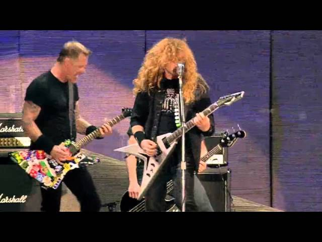 Metallica, Slayer, Megadeth and Anthrax - Am I Evil? Live at the Big 4!