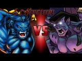 Beast VS Goliath (Marvel VS Gargoyles) DEATH BATTLE!