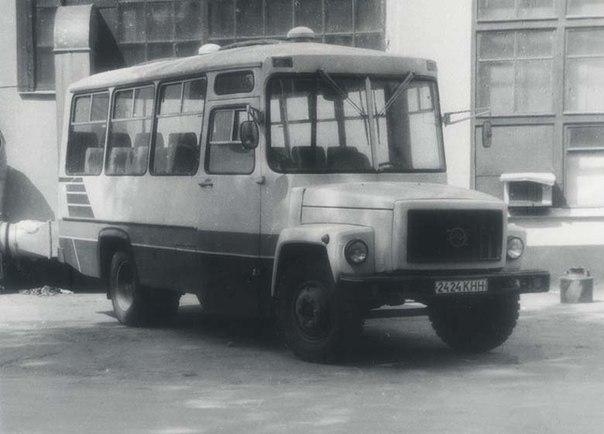 на основе шасси ГАЗ-4301