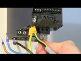 Подключение и настройка преобразователей частоты Danfoss на примере преобразователя FC51