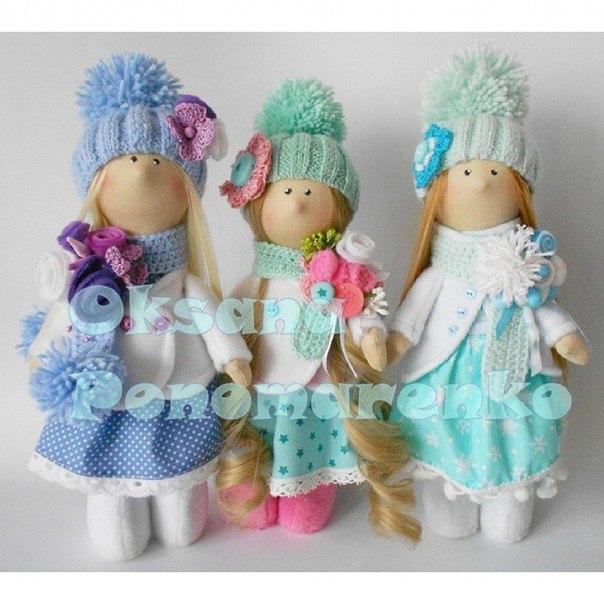Куклы от Пономаренко Оксаны (8 фото) - картинка