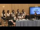 (151008 Cultwo Show) Dindin ( 딘딘) + Wax ( 왁스 ) + Lovelyz ( 러블리즈 )