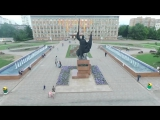 Уссурийск и Андреевка c квадрокоптера DJI Phantom 3