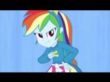 Клип из мультфильма Мой маленький пони Девочки из Эквестрии