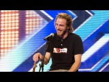 Robbie Hance's audition - Damien Rice's Coconut Skins - The X Factor UK 2012