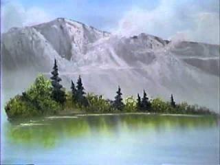 Боб Росс - Учимся рисовать горное озеро (1 сезон)