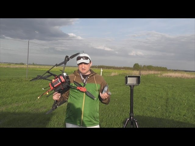 Тестирование видеопередатчика TS351