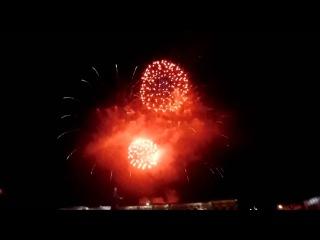 Салют на день России в Крыму Симферополь 12 июня 2015