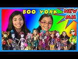 Monster High BOO YORK Monsterrific Musical Complete Set