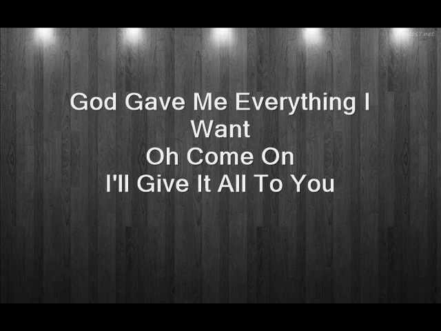 God Gave Me Everything Mick Jagger feat Lenny Kravitz