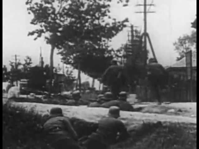 Вторая Мировая Война.(Немецкая Кинохроника)