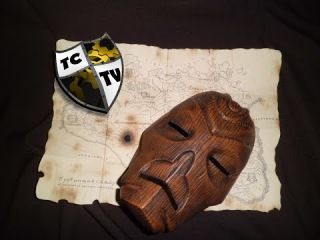 Как сделать деревянную маску жреца дракона (How to Make the Wooden Dragonpriest Mask)