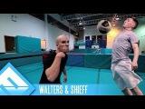 Extreme Football Tennis!  Walters &amp Shieff (ep. 1)