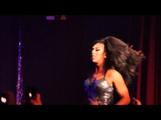 Shangela & Alyssa Edwards hit the GH 22nd March 2014