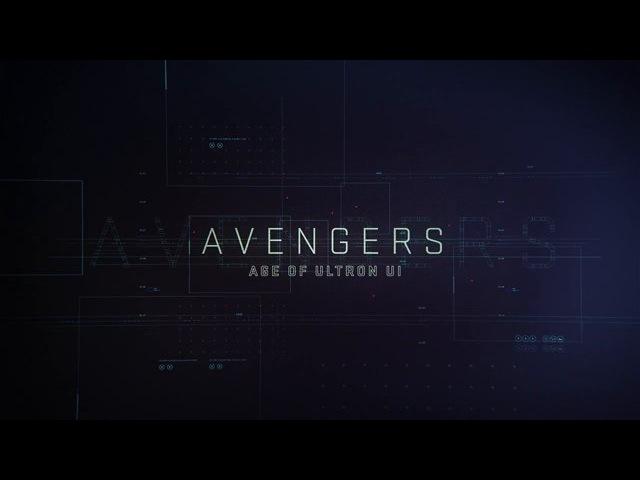 AVENGERS: AGE OF ULTRON [UI Reel]