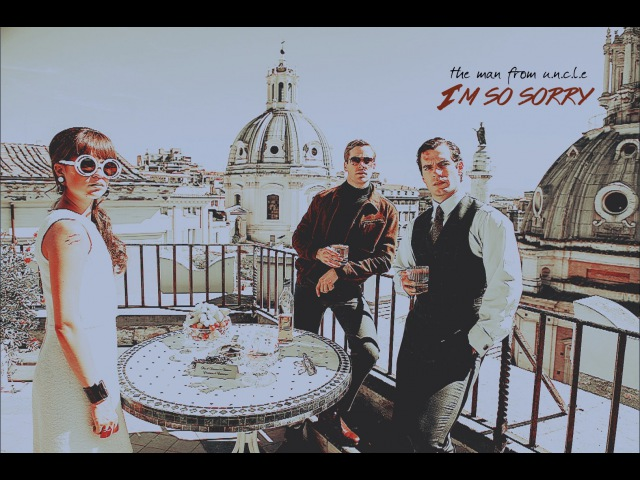 2. the man from u.n.c.l.e. ♢ i'm so sorry