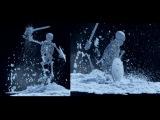 Houdini 14 - Destruction in Snow RnD