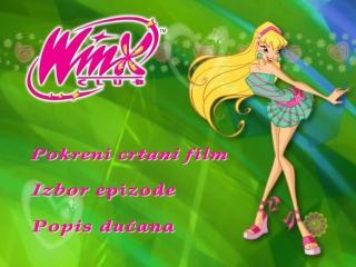 Winx Club Season 2 DVD 5 Menu [Croatian and English Dub]