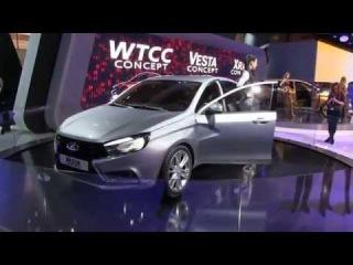 Лада Веста Lada Vesta 2015 - обзор и тест