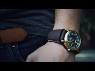 Как сделать ремешок на часы своими руками видео