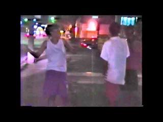 D.j. Assault, Eric Craig D.j.Bigg Redd, Driving DownTown, Detroit, 6-22-1991 Filmed By Wayne Perry