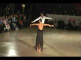 Stefano and Anna - Шоу - Rumba | Boston University ballroom dance competition 2009