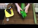 Изготовление основы для букета из конфет. Мастер класс