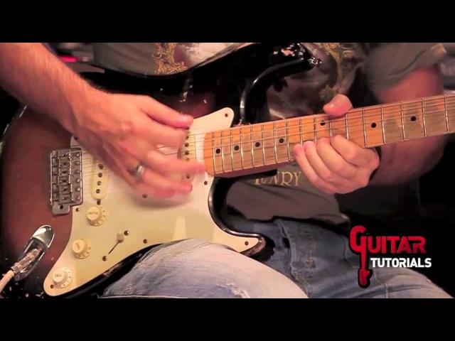 Another Brick In The Wall (Pink Floyd) - Solo - Guitar Tutorial with Matt Bidoglia