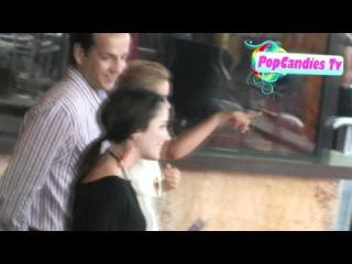 Kiernan Shipka arrives @ Glee The 3D Concert Movie Premiere in Westwood!