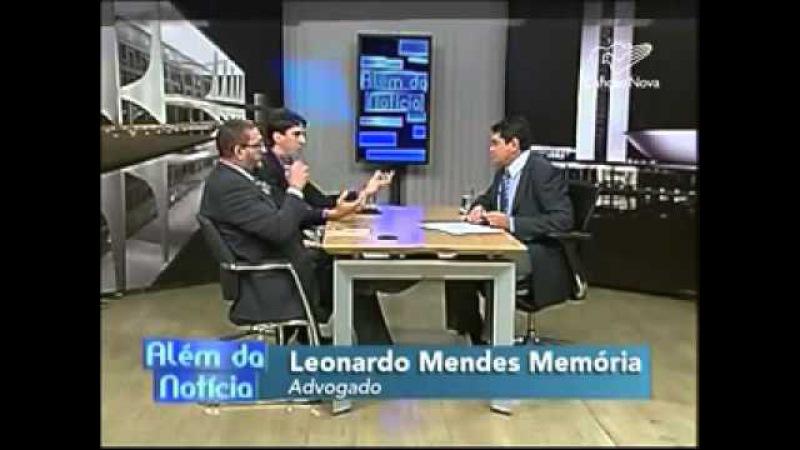 Debate sobre desarmamento com Bene Barbosa e Leonardo Mendes Memória - TV Canção Nova - 06/07/2015