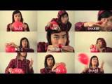 99 Red Balloons - played with red balloons. Andrew Huang