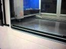 LaserCut FO3015-1.0PRF cutting 1.5mm mild steel view from operators location
