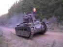 Matilda MkII Infantry Tank, Test run after rebuild
