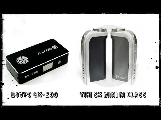 YIHI SX MINI M CLASS and DOVPO GX200 - обзор от Todd