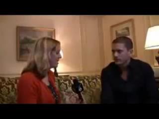 Wentworth Miller in Paris on BBC Radio 1 Newsbeat Interview